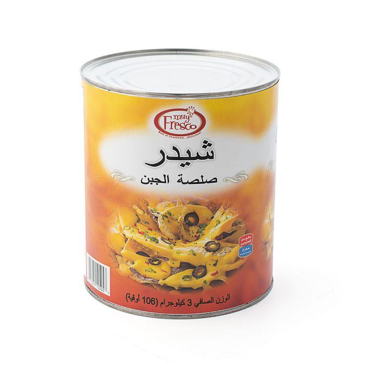 Cheddar Cheese Sauce 3Kg - Muy Fresco